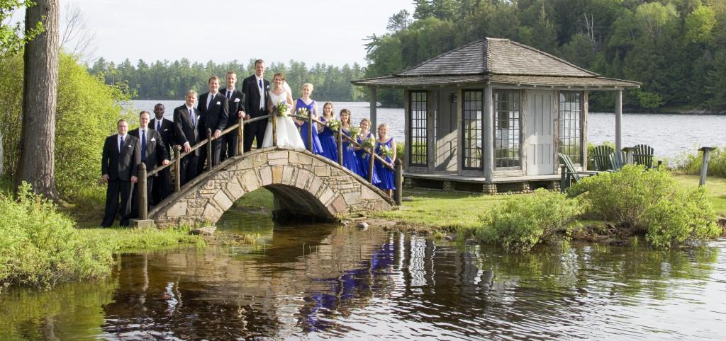 white pine camp wedding