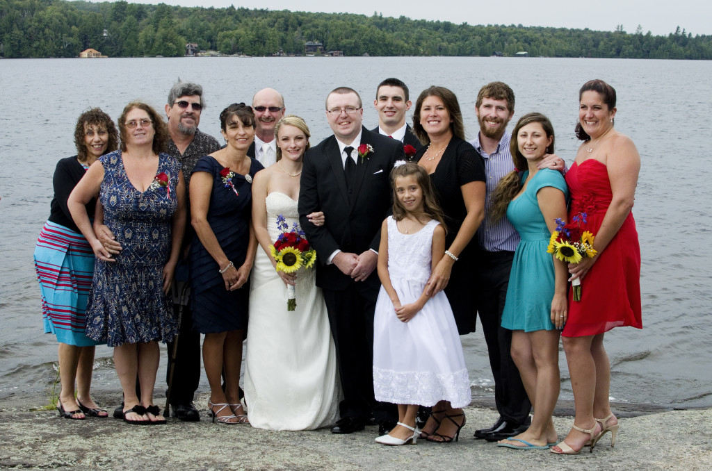 chapel island saranac lake wedding