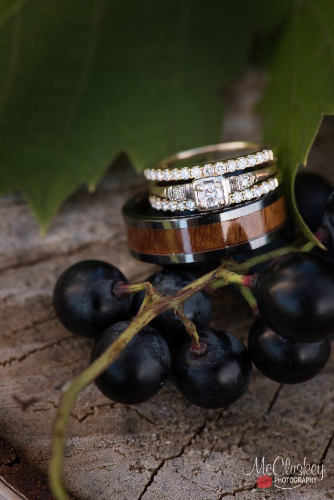 wedding rings winery